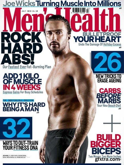 Men\'s Health UK - July 2018