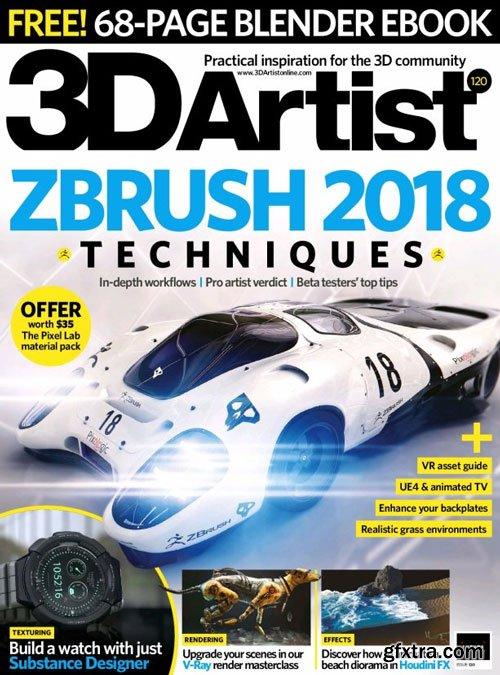 3D Artist - Issue 120, 2018 (True PDF)