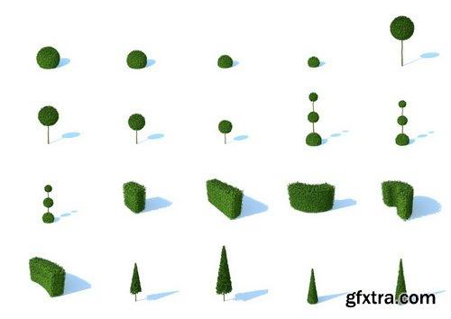 HD Trees Vol 3 for Cinema4D