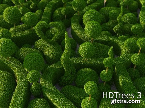 HD Trees Vol 3 for Cinema4D