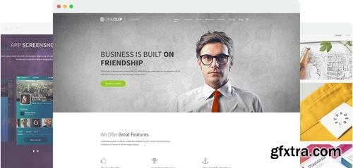 JoomShaper - OneClip v2.5 - Multipurpose One Page Responsive Joomla Template