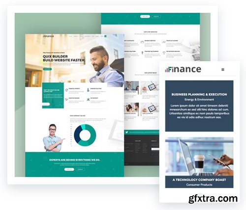 ThemeXpert - Finance v2.2.2 - Consulting, Business, Finance Joomla Template