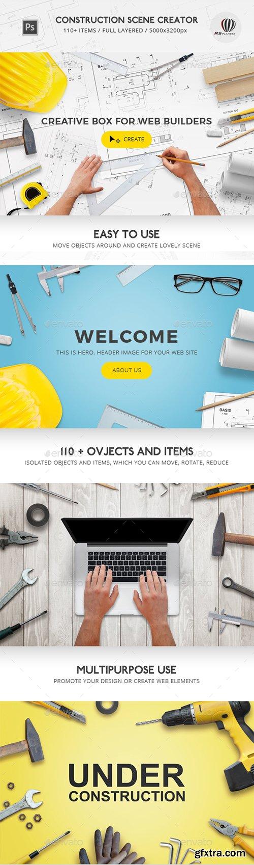 Graphicriver - Construction Scene Creator 17194617