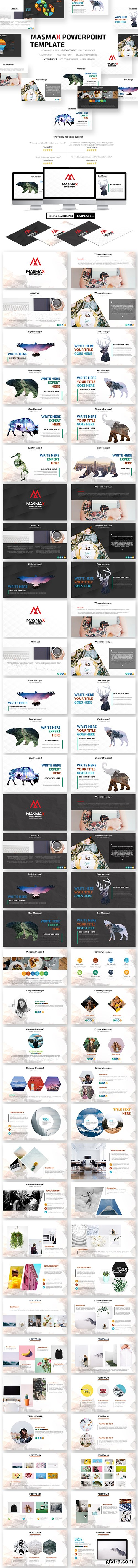 Graphicriver - Masmax Powerpoint Template 21605699