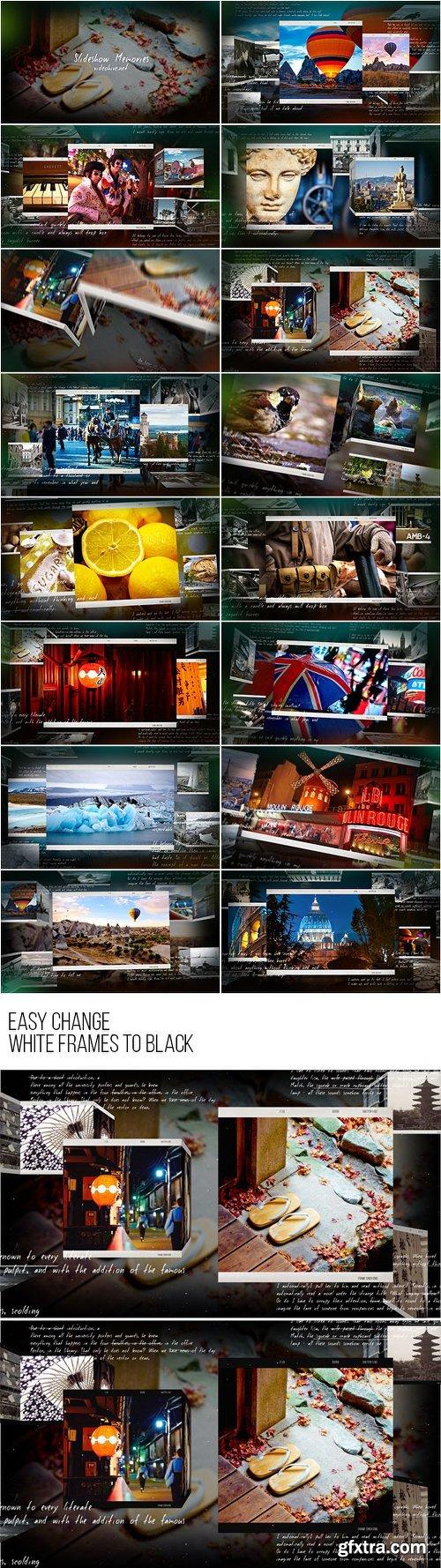 Videohive Slideshow Memories 12460886