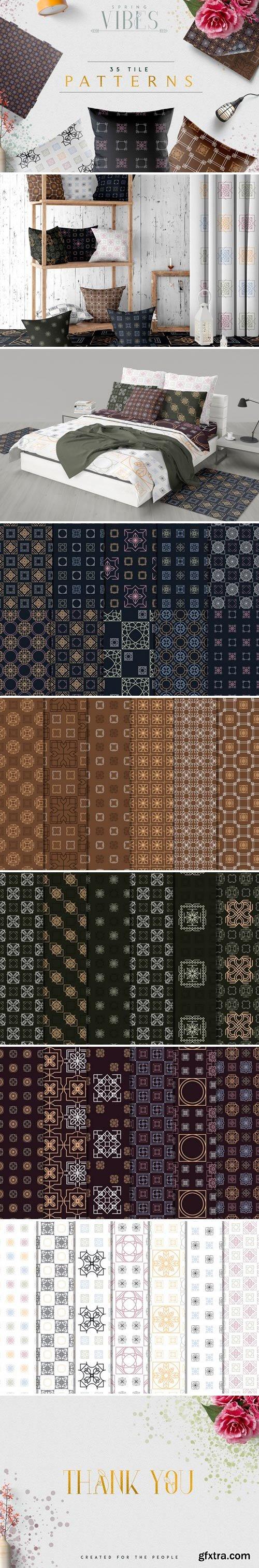 CM - [Spring Vibes] 35 Tile Patterns 2472127