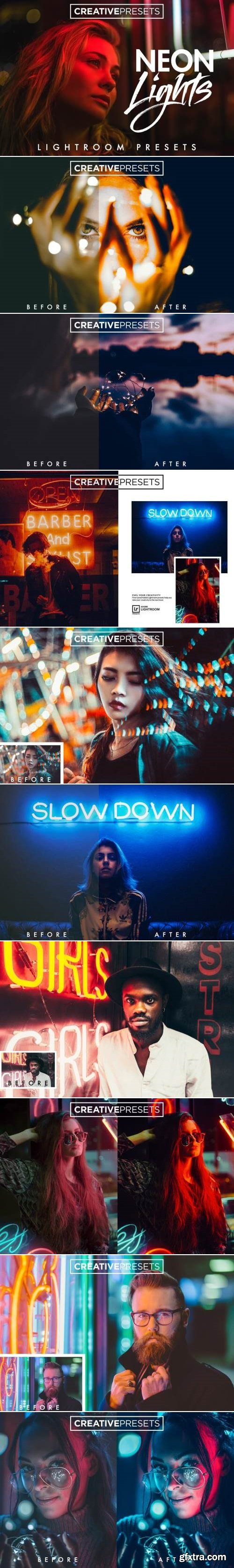 Neon Lights Lightroom Presets