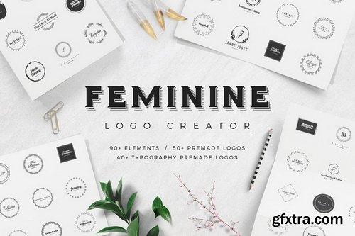 CM - Feminine Logo Creator - 2189595