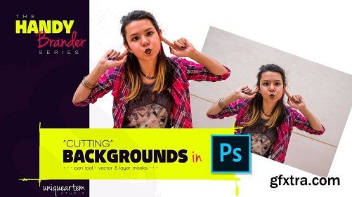 The Handy Brander series: 'Cutting' Backgrounds in Photoshop