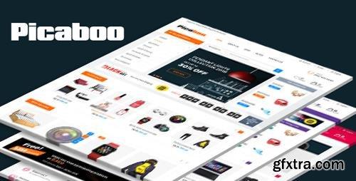 ThemeForest - Picaboo v1.0 - Responsive PrestaShop Theme - 21995474