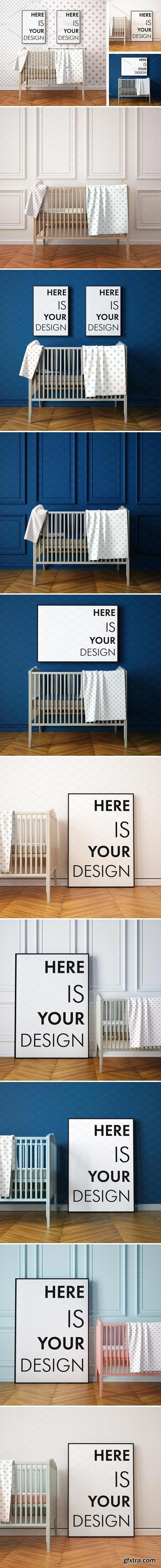 CM - 10 Mockups children's room 1534406