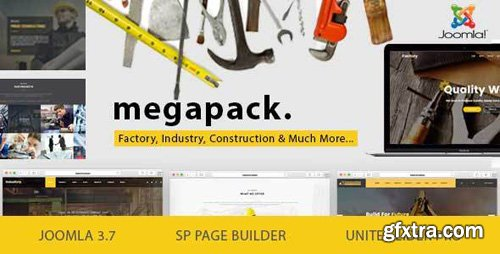 ThemeForest - Mega Pack v1.8 - Factory, Industry, Construction Joomla Template - 19596071