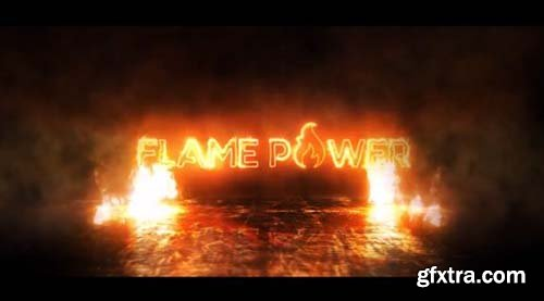 Fire Logo Reveal - After Effects 88639