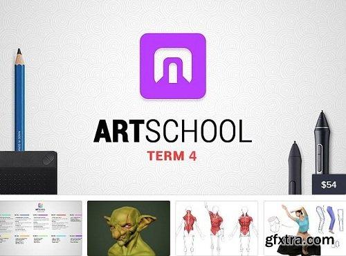 Cubebrush - ART School Term 4 by Marc Brunet