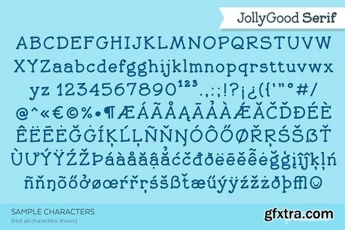 CM - JollyGood Serif- Complete 2492342