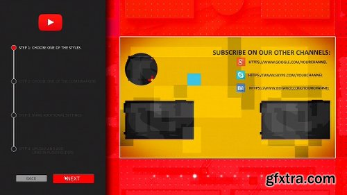 Videohive YouTube End Screens Builder 21560750