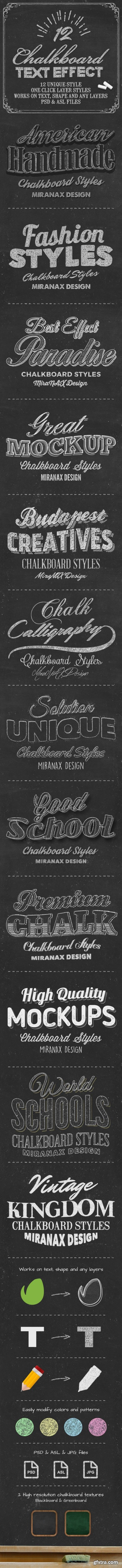 Graphicriver - Chalkboard Styles 10785351