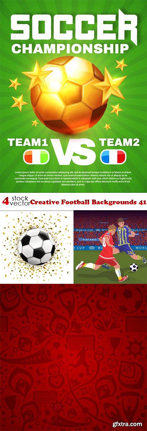 Vectors - Creative Football Backgrounds 41