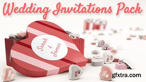 Videohive Wedding Invitations Pack 19402648