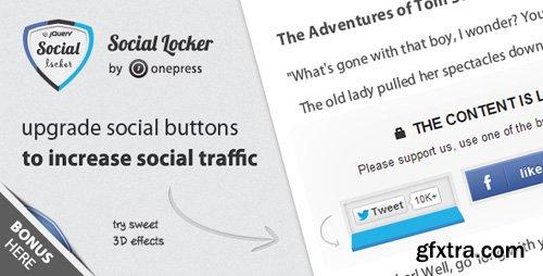 CodeCanyon - Social Locker for jQuery v2.3.1 - 3408941