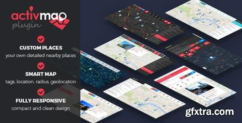 CodeCanyon - Activ'Map v2.0.0 - Nearby Places - Responsive POI Gmaps - 10036421