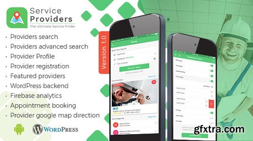 CodeCanyon - Listingo - Service Providers, Business Finder Android Native App (Update: 26 April 18) - 21435746