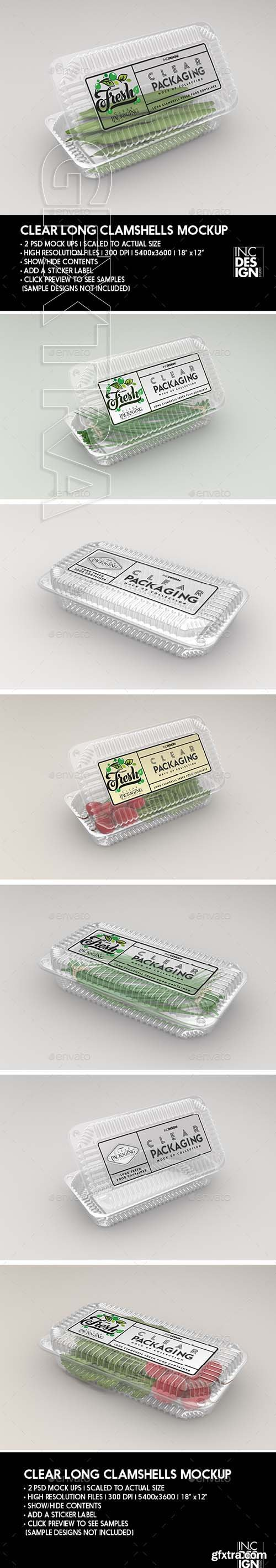 GR - Clear Long Clamshell Packaging Mockup 22071931