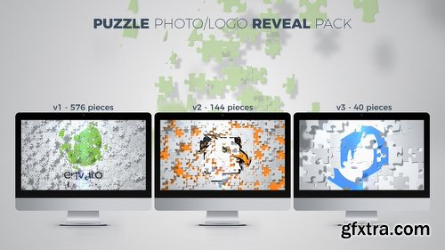 Videohive Puzzle Photo / Logo Reveal Pack 20946617