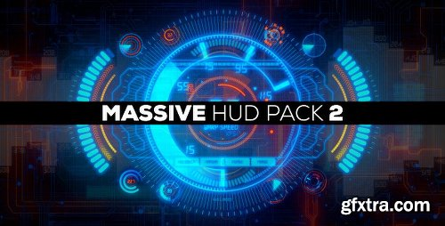 Videohive Massive HUD Pack 2 4860833