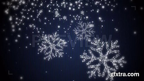 Snowflake Particles Background 86634