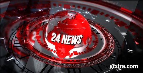 Videohive 24 Broadcast News - Complete Package 18464443