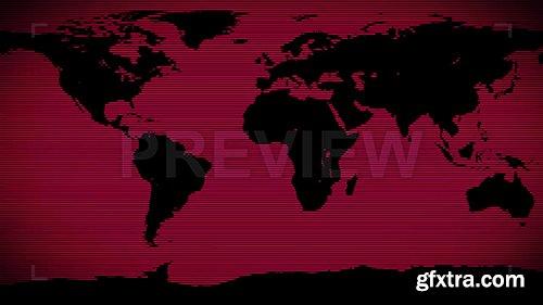 Red World Background 86696