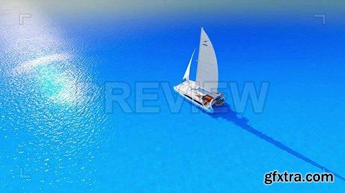 Ship On A Blue Sea 86903