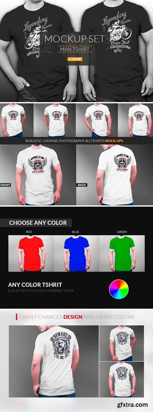 CM - Professional Tshirt Mockup Vol-3.1 2545125