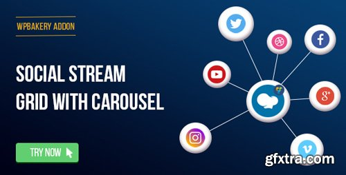 CodeCanyon - WPBakery Page Builder - Social Streams With Carousel v1.11 (formerly Visual Composer) - 11471294