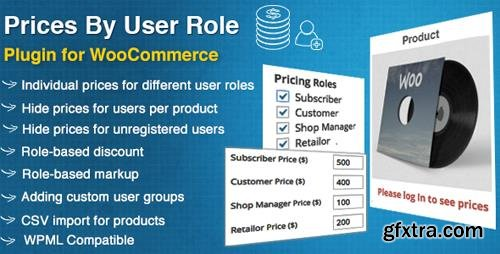 CodeCanyon - Prices By User Role for WooCommerce v4.0.3 - 8562616