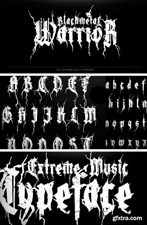 XXII Blackmetal Warrior Font