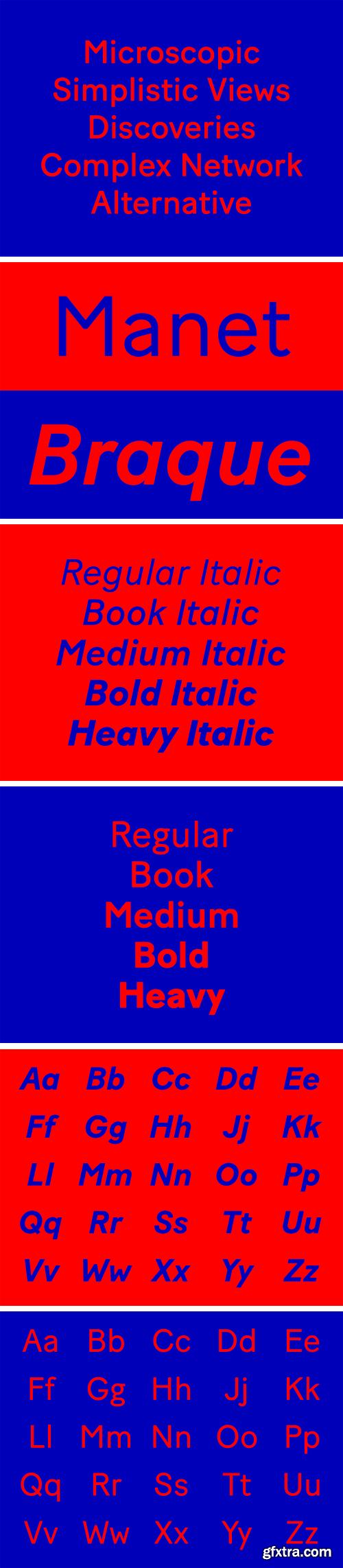 Baton Turbo Font Family
