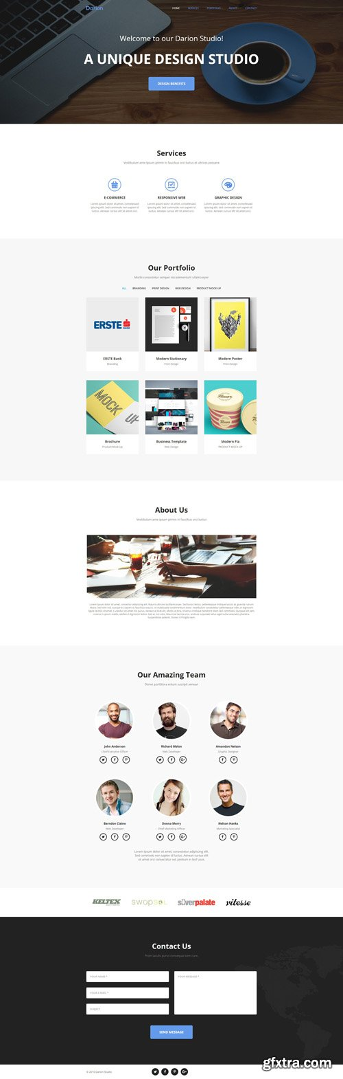 Seemly Designs - Darion - Responsive One Page Theme