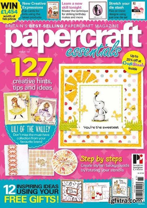 Papercraft Essentials - Issue 161 2018