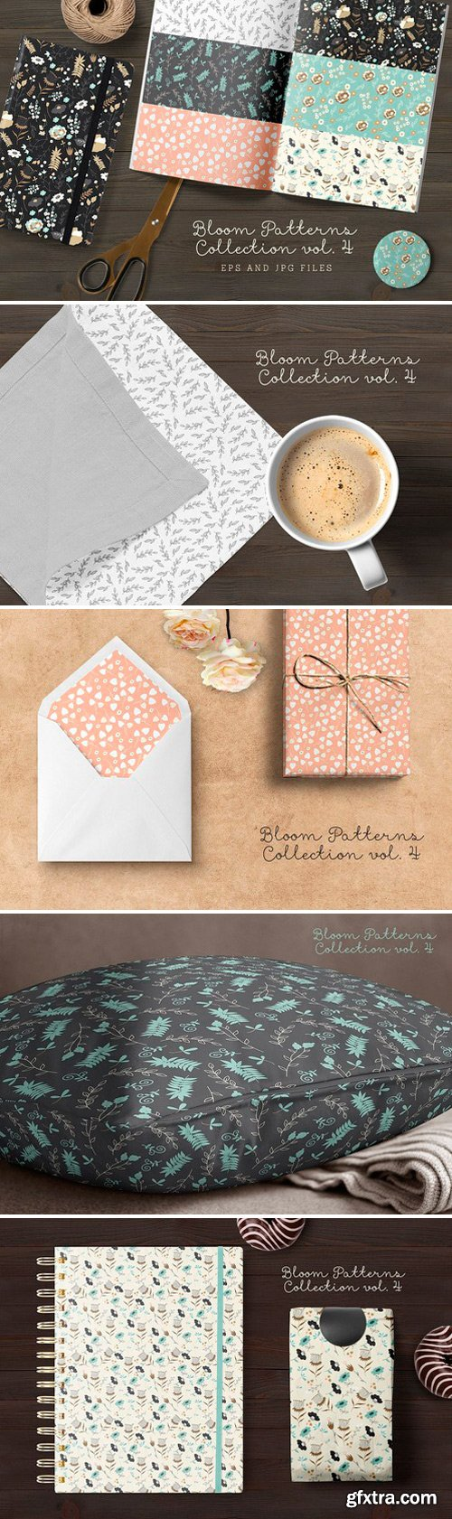 CM - Bloom Patterns Collection vol.4 999830