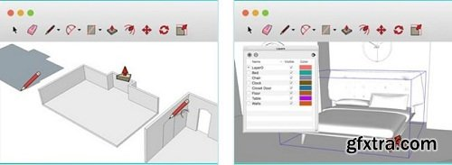 Sketchup School – Levels 1 to 5