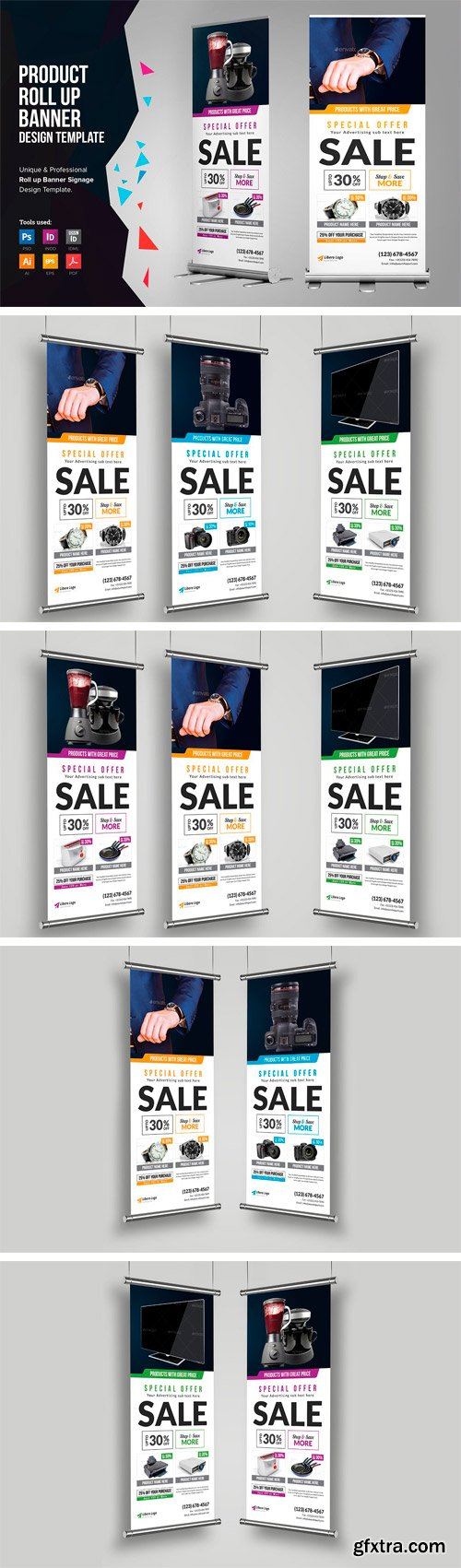 CM - Product Rollup Banner Signage 2511679