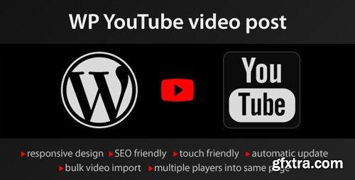 CodeCanyon - YouTube WordPress plugin v1.4.7 - video import - 4429742