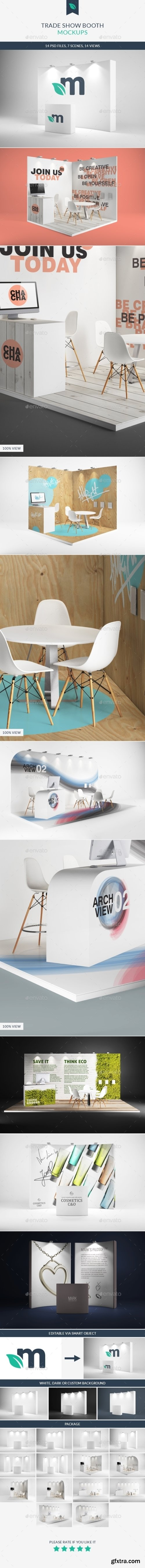 Graphicriver - Trade Show Booth Mockups 9273909