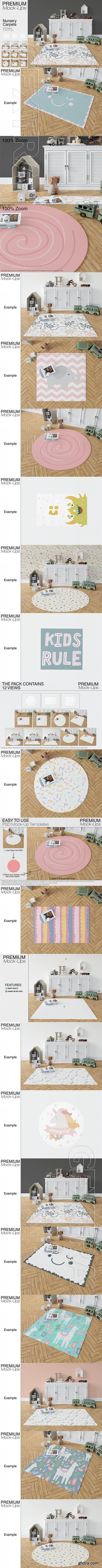 GR - 3 Types of Carpets - Round, Square & Rectangular 22040192