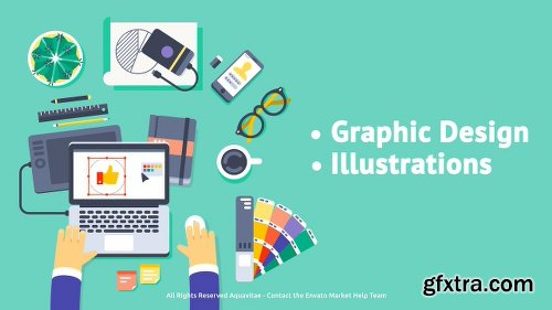 Videohive Creative Process - Flat Design Concepts 18312170