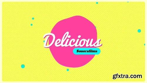 Videohive Delicious 20868099