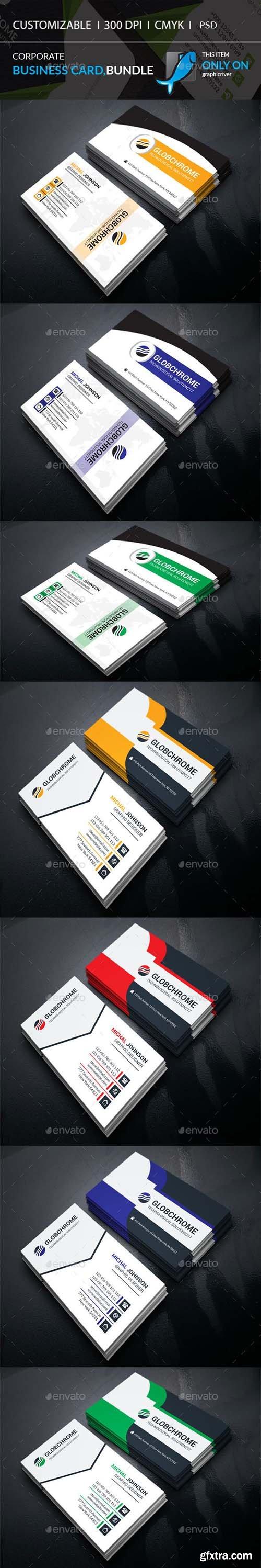 Corporate Business Card Bundle 21953546