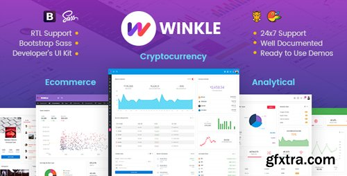 ThemeForest - Winkle v1.0 - Responsive Bootstrap Admin & Powerful UI Kit - 22014422